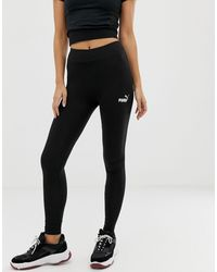 PUMA – Essentials – e Leggings - Schwarz