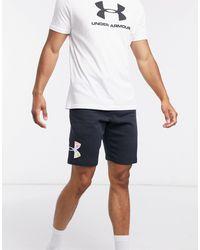 Under Armour Pride Fleece Shorts - Black