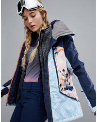 Roxy - Pop Snow Wildlife Jacket - Lyst