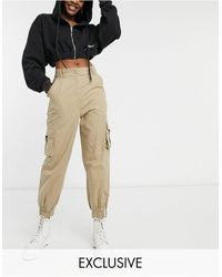 Collusion Pantalon cargo - Taupe - Marron