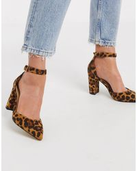 Oasis Ankle Strap Shoes - Brown