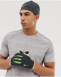 Nike Dry - Coffret bonnet et gants - Gris
