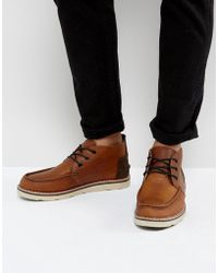 TOMS - Waterproof Leather Chukka Boots - Lyst