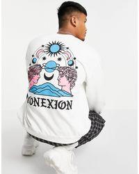 Honour HNR LDN – Connexion – Sweatshirt - Weiß