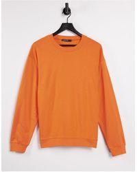 I Saw It First Felpa - Arancione