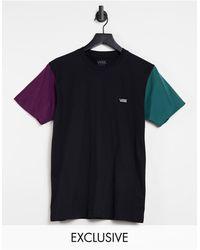 Vans Opposite Colourblock T-shirt - Black