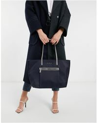 Fiorelli Charlotte Nylon Tote Bag - Blue