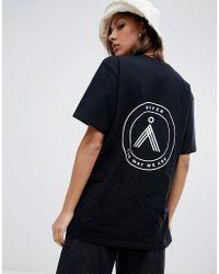 WÅVEN Sten Emblem T-shirt - Black