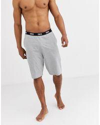 ASOS – Freizeit-Pyjama-Shorts - Grau