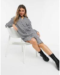 Lola May Midi Shirt Dress - Multicolour