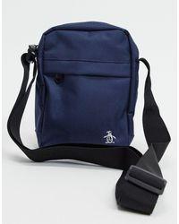 Original Penguin S Arc Crossbody Bag In Navy-темно-синий