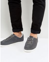 Lambretta Gazman Sneakers Taupe Suede - Natural