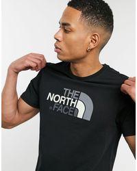 The North Face Черная Футболка Easy-черный Цвет