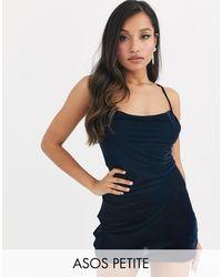 ASOS Minivestido camisola - Azul