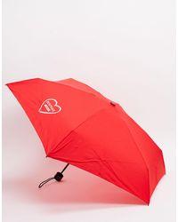 Moschino Красный Маленький Зонтик