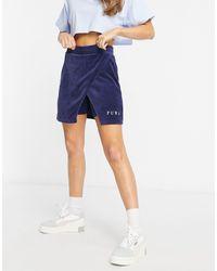 PUMA Cord Skirt - Blue
