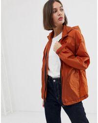 ASOS - Contrast Stitch Windbreaker Jacket - Lyst