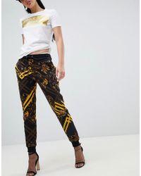 Versace Jeans - Baroque Print jogger - Lyst