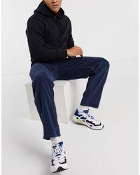 ASOS – Weite Jeans - Blau
