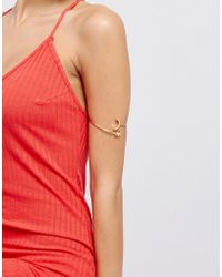 ASOS - Design Moon And Star Arm Cuff - Lyst