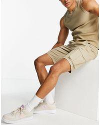 Only & Sons Pantalones cortos cargo en color tostado - Marrón