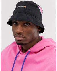 9a0d7d703 Matero Bucket Hat With Patch Logo In Black