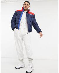 Tommy Hilfiger Corp Puffer Jacket - Blue