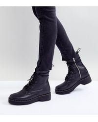 Steve Madden - Leather Ankle Boots - Lyst