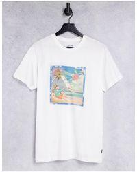 Billabong Camiseta blanca - Blanco