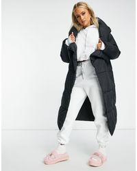 UGG Черное Пальто На Подкладке Catherina-черный