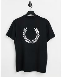 Fred Perry Back Logo T-shirt - Black
