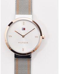Tommy Hilfiger Sunray 1782221 - Montre en maille en métaux variés - Multicolore