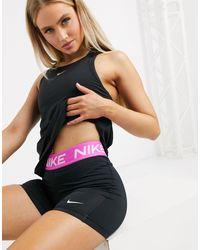 Nike Pantalones cortos negros