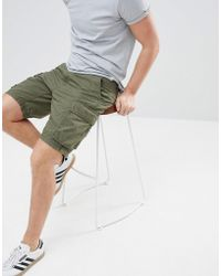 French Connection - Military Cargo Shorts - Lyst