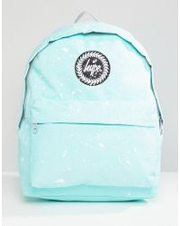 Hype - Mint And White Speckle Backpack - Lyst