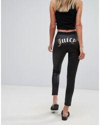 Juicy Couture Gothic Logo Legging - Black