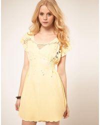 Sugarhill Ibiza Butterfly Dress - Multicolor
