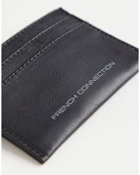 French Connection Classic Folded Cardholder - Brown