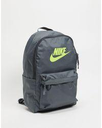 Nike Темно-серый Рюкзак Heritage 2.0