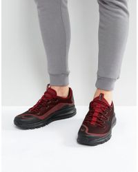 newest 1cbaa 6a61b Nike - Air Max More Trainers In Red 898013-600 - Lyst