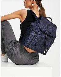 Fiorelli Eloise - sac à dos à motif theseus - Bleu