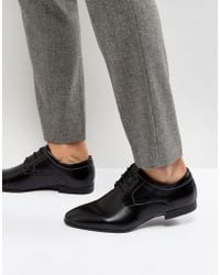 New Look - Derby Shoes In Black - Lyst