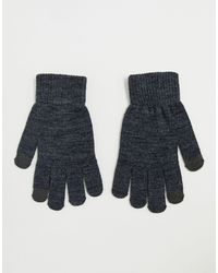 Pieces Touch Screen Gloves - Gray
