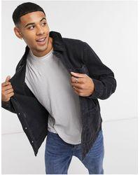 New Look Denim Jacket - Black