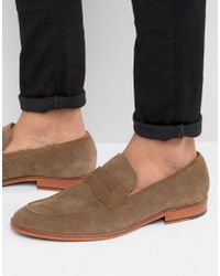 Dune - Ruling Penny Loafers - Lyst
