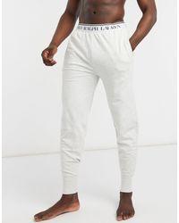 Polo Ralph Lauren Серые Джоггеры С Логотипом На Талии -серый