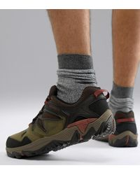 Merrell - All Out Blaze 2 Hiking Trainers In Olive - Lyst