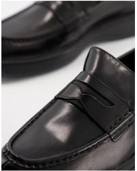 Calvin Klein Pegasus Penny Loafers - Black