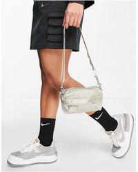 Nike Светло-бежевая Сумка Через Плечо С Карманами Futura Luxe-белый