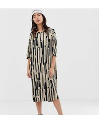 Monki - Oversized T-shirt Dress - Lyst